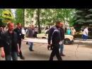 Краматорск Похороны 21 летней Юлии Изотовой убитой украинскими нацисткими карателями 6 мая 2014 Част