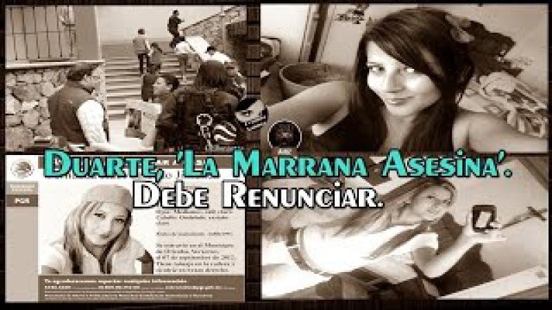 A tu hija ya la cocinamos. Javier Duarte debe renunciar y tiene que ir a la cárcel.
