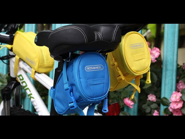 Roswheel 13656 - Сумка для велосипеда. Cycling Bike Rear Seat Saddle 1L Bag