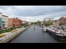 Brda Bydgoszcz widok z mostu Jerzego Sulimy Kamińskiego na wschód panorama timelapse