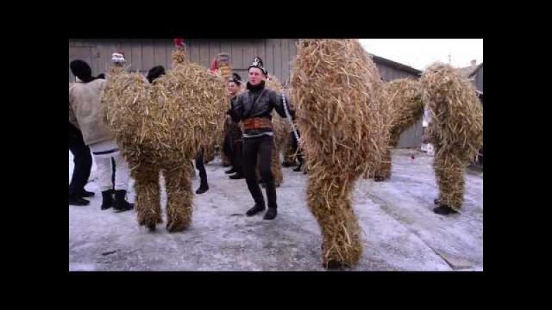 Де танцюють солом'яні ведмеді або маланка по Красноїльськи