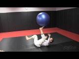 Jeff Glover, Stability Ball Work Bottom Jiu-Jitsu Magazine, Issue #23