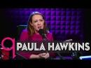 The Girl on the Train author Paula Hawkins in studio q