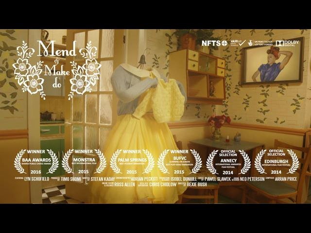 Mend and Make Do - A Life-Sized Animated Short Film