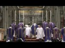 Pope Benedict XVI Ash Wednesday 13 02 2013