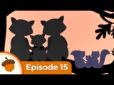 Slumber Party | Treetop Family Ep.15 | Cartoon for kids