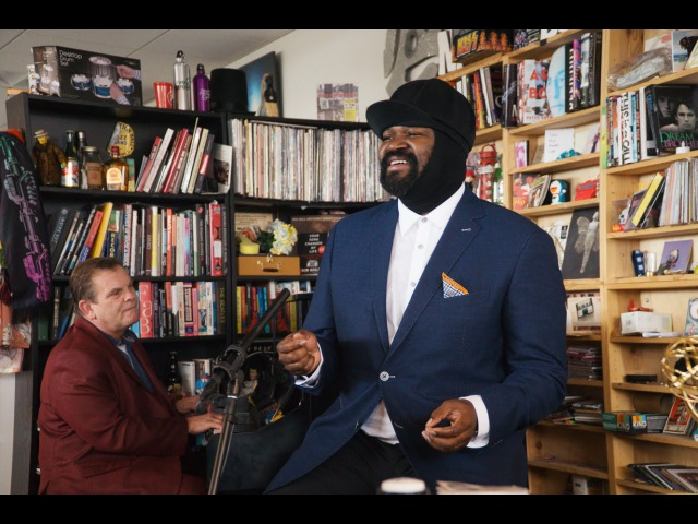Gregory Porter NPR Music Tiny Desk Concert