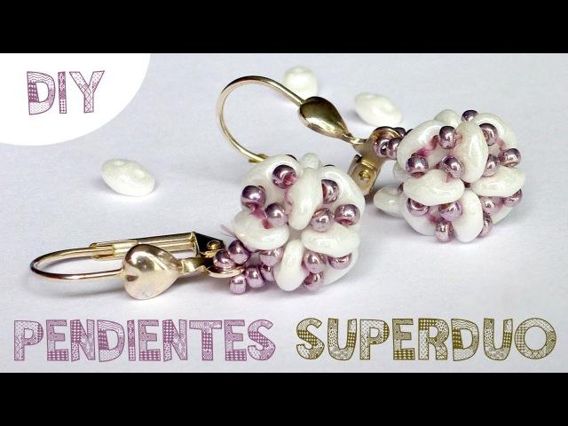 DIY PENDIENTES SUPERDUO MIYUKI ♥ Qué cositas