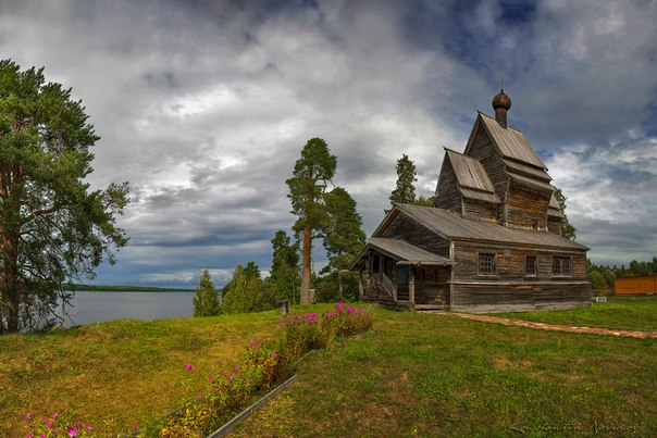 Церковь Георгия Победоносца в Юксовичах (Подпорожский район Ленинградс