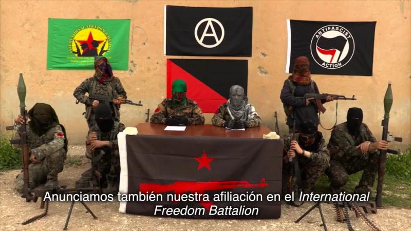 Nace la guerrilla anarquista IRPGF en Rojava para luchar por la revolución en Kurdistan