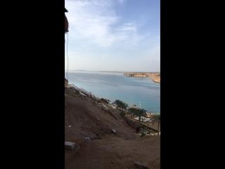 Пляж отеля Aqua blu 2016