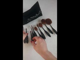 Кисти щетки my makeup brush set