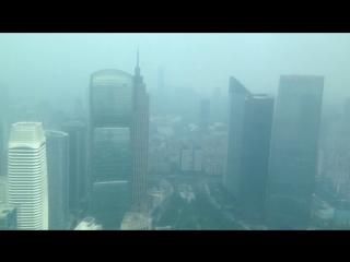 IFC , Guangzhou, вид из туалета ))