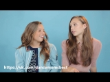 Maddie and Mackenzie Ziegler Share the Sweetest Sister Moment Youve Ever Seen - Teen Vogue