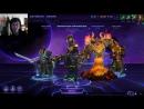 Slavanyker's Heroes of the Storm | Тренировка с тиммейтами | Rubicon Multigaming