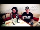 JACK ACTION и HOLLYWOOD UNDEAD. Интервью о совместном туре (Rus. by dailsound25)