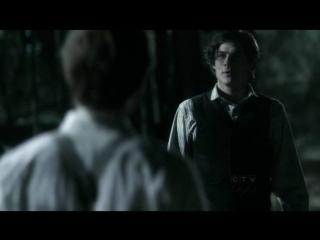 Дневники вампира -1.20 - Деймон после обращения в вампира говорит со Стефаном о вечности (Озвучка Кубик в кубе)