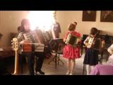 выступление на аккордеоне