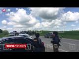 Появилось первое видео с места теракта в Чечне