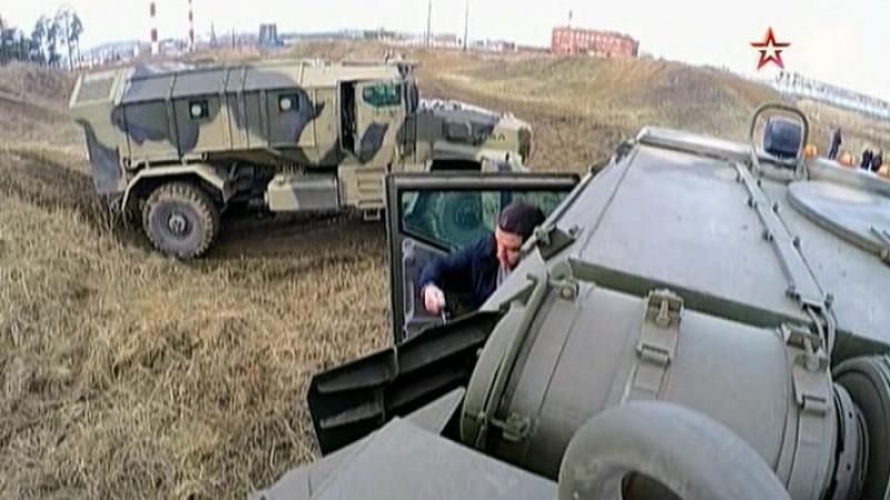 Секретные материалы «Военной приемки» - Новые русские броневики