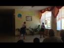 Танец Синий платочек в исполнении Митрохиной Александры и Дорофеевой Ксении