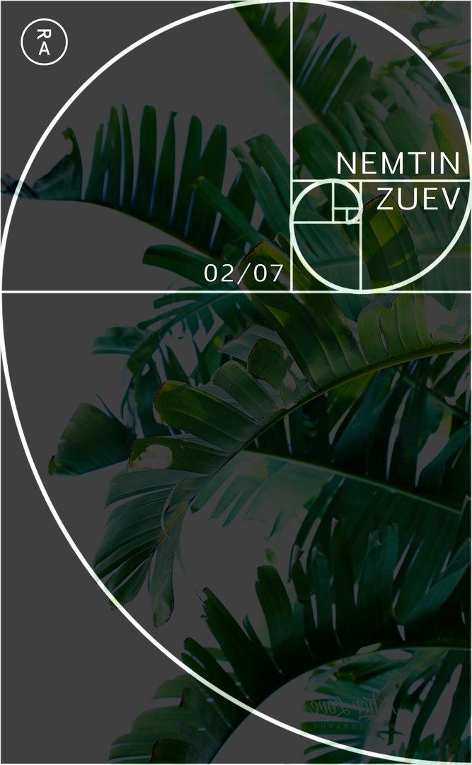 Афиша Владивосток 02.07 / NEMTIN + ZUEV (KHV) RA
