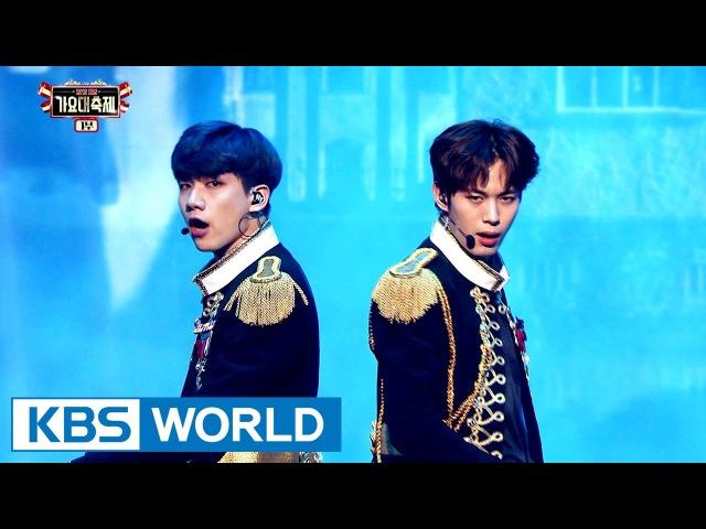 VIXX - Fantasy / The Closer [2016 KBS Song Festival / 2017.01.01]
