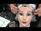 State Board FACIAL procedure on the doll head