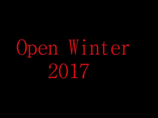 Open winter 2017 ! lpart 1 l