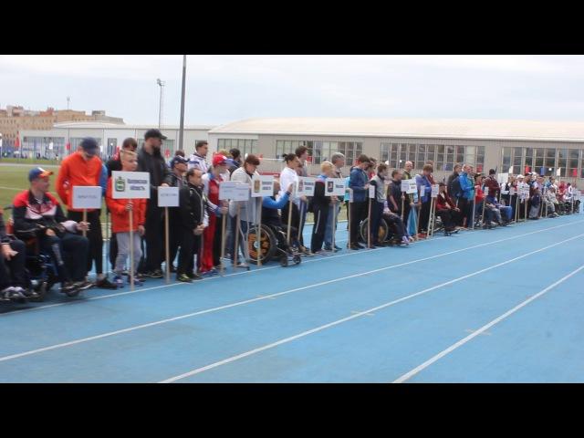 соревнования по легкой атлетике в Смоленске