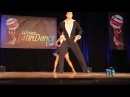 Oliver Pineda Luda Kroitor semifinals at the 2010 World Latin Dance Cup