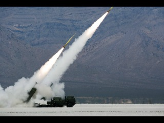 US Military Power US ( High Mobility Artillery Rocket System) HIMARS in Action