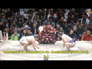 Sumo -Hatsu Basho 2017 Day 14, January 21st -大相撲初場所 2017年 14日目
