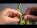 Французская резинка спицами - вязание для начинающих