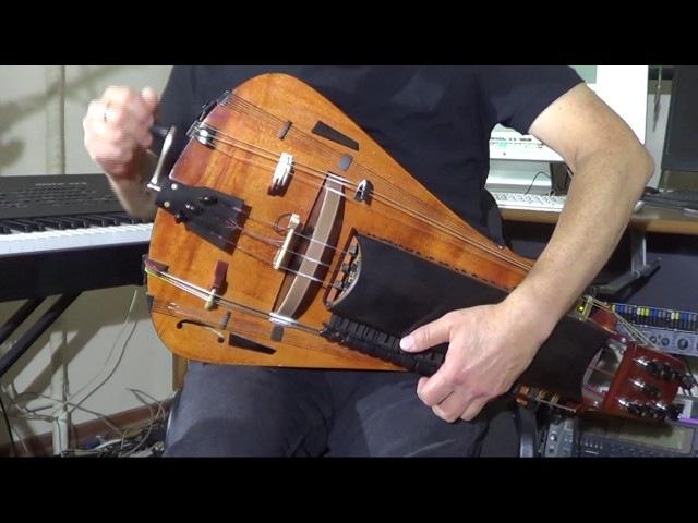 Uzh I Ya Li Moloda, Tonkopriaditsa Byla. Hurdy-gurdy with arrangement