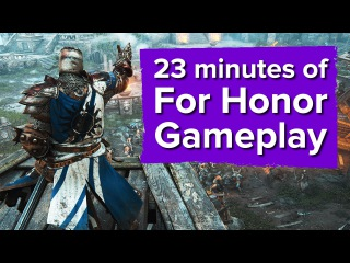 23 minutes of For Honor Gameplay (Closed Alpha)