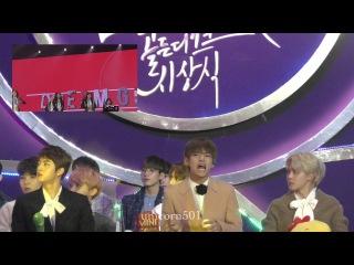170114 BTS taehyung reaction to l.O.l