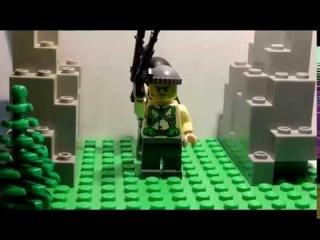 Чеченская война ЛЕГО мультфильм / The Chechen war lego stop motion