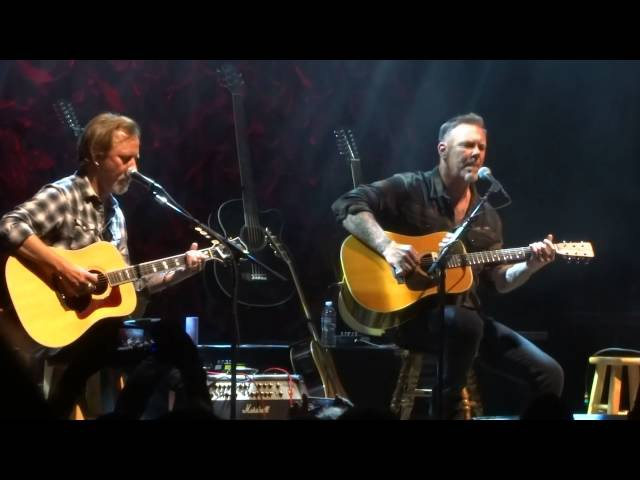 Acoustic 4 A Cure James Hetfield and Jerry Cantrell