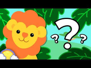 Zoo Animals Game | Guessing Game for Kids! | CheeriToons