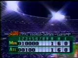 October 23, 1991 - Minnesota Twins vs. Atlanta Braves WS G4