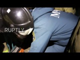 Ukraine: Officials collect body of assassinated DPR commander 'Motorola' *GRAPHIC*