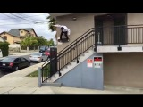 INSTABLAST! - Massive Wallride Gap Out!! P Rod, Mikey Taylor Kid Skating!! Huge 20 Stair Ollie Slam!