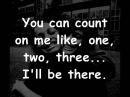 Bruno Mars Count on me lyrics