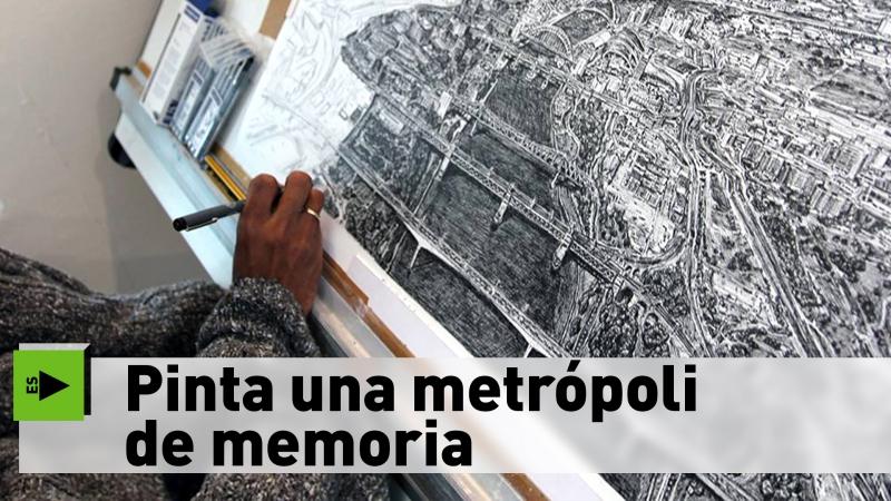 Pinta una metrópoli de memoria