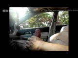 Beijing dick flash in car