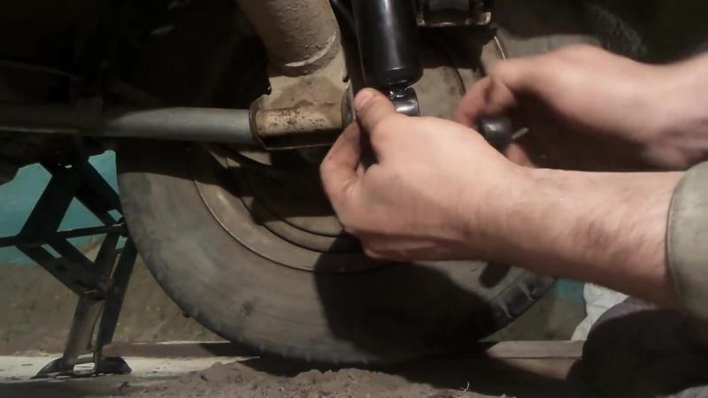Замена задних амортизаторов Ваз 2101-2107