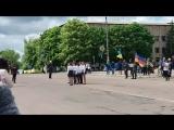 Парад пісні і строю Хорошівський НВК 5-Б