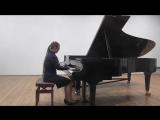 В.А.Моцарт. Рондо  в турецком стиле. Исполняет Женя Ванина