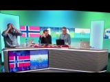 Реакция норвежского ТВ на гол Сан-Марино